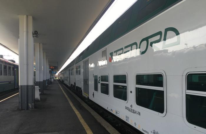 Il dislivello tra treno e banchina