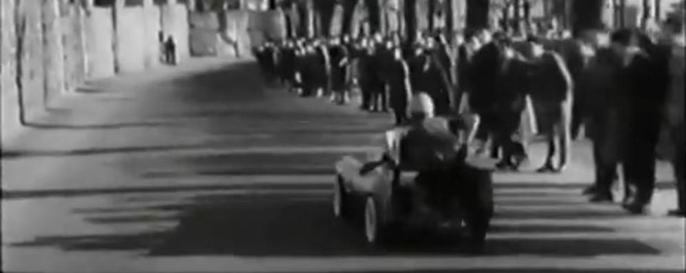 Indianapolis? No, Bergamo Il Soap Box Rally di 60 anni fa - video