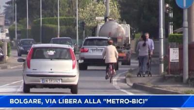A Bolgare via libera alla Metro-bici