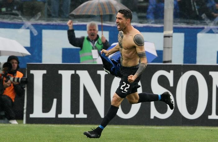 Marco Borriello, tre gol in due partite