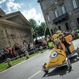 Festa Soap Box Rally - Foto e video Folla in Città Alta, ecco i risultati