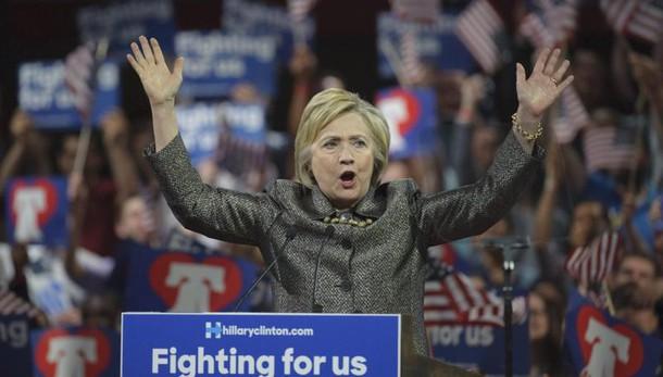 Usa 2016: Hillary-Sanders 4 a 1