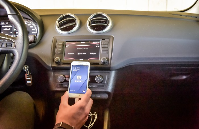 Seat e Samsung insieme