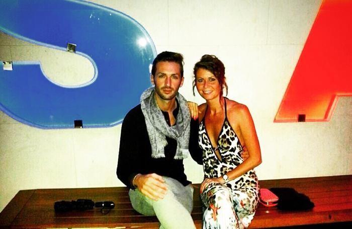 Il bergamasco con la moglie, alle Bahamas