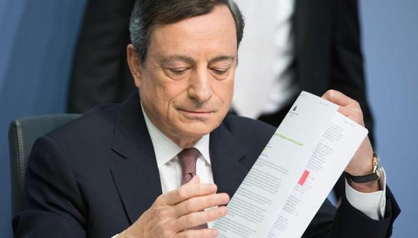 Draghi,Bce non frena riforme Roma,Parigi