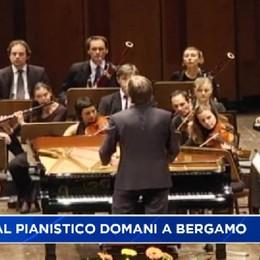 Festival Pianistico Internazionale, domani inaugurazione al Donizetti