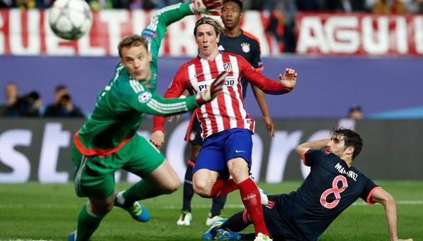 Magia Saul, l'Atletico piega il Bayern