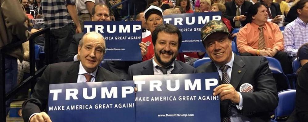 Salvini e Trump La strana coppia