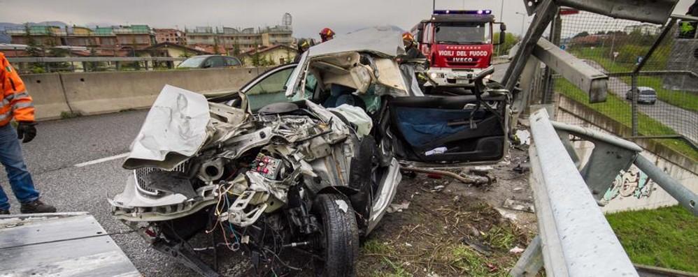 Incidenti stradali a Bergamo nel 2015 Ecco la mappa dei punti più a rischio