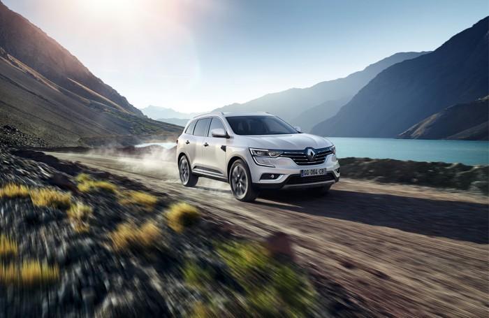 Nuovo Koleos di Renault