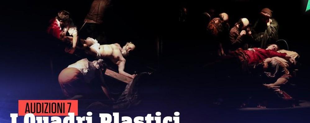 I quadri di Caravaggio «vivono» Guarda il video di Italia's Got Talent