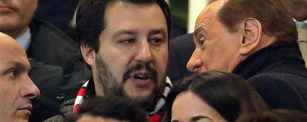 Quella volta che Salvini (milanista) se la vide brutta proprio a Bergamo...