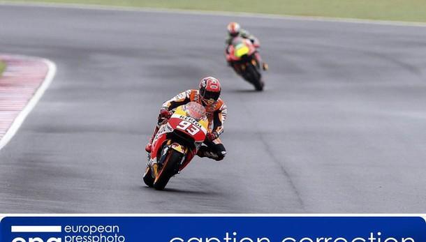 Moto:Argentina, vince Marquez,Rossi 2/o