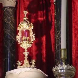 Sacra Spina, la Messa con il vescovo