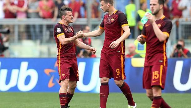 Serie A:derby alla Roma, pari Fiorentina