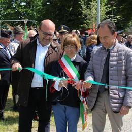 Dalmine inaugura il parco della legalità Dedicato a Falcone e Borsellino - Foto