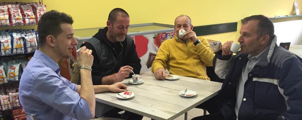 Al centro sportivo di Piario il caffè è gratis, in cambio di un'idea