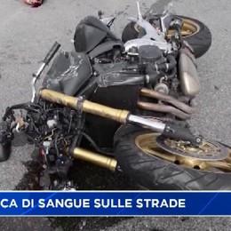 Domenica di sangue sulle strade della Bergamasca