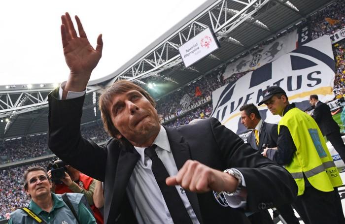 Antonio Conte da allenatore della Juventus