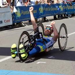 Handbike: il Giro d'Italia di Tomasoni  inizia con una seconda posizione