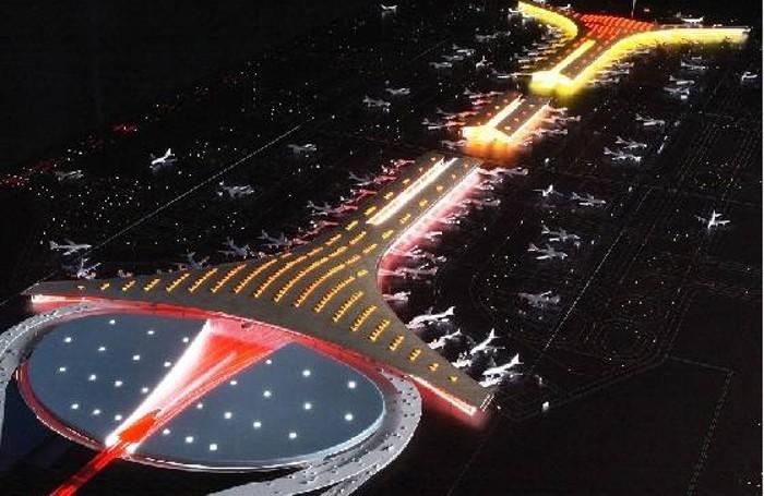 L'aeroporto di Pechino in Cina