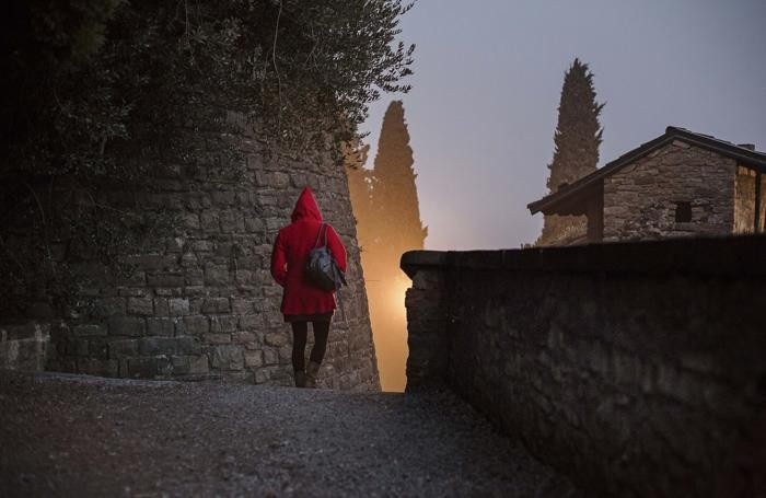 Secondo posto - Rosso tra le mura