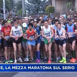 Colzate, la Mezza Maratona sul Serio