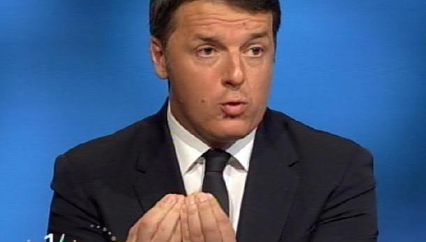 Renzi, beccare ladri, non bloccare opere
