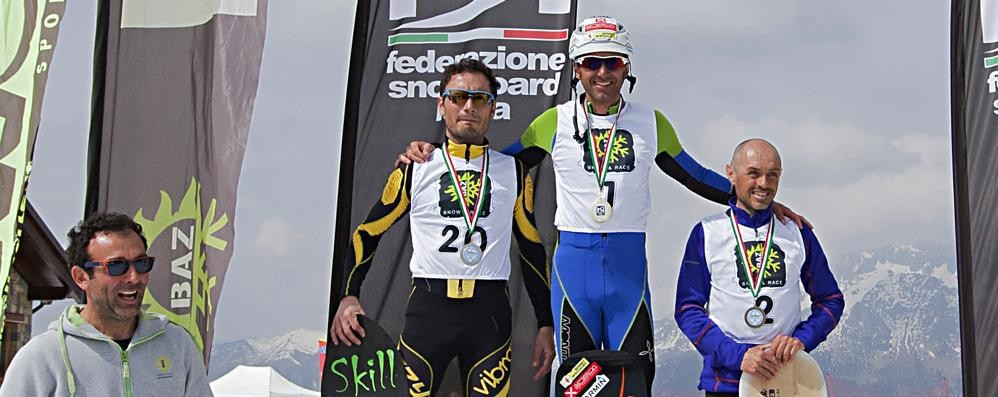 Snowboard: con Pisoni e De Vecchi  sul podio tricolore si parla bergamasco