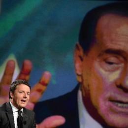 Renzi e il rischio di imitare Berlusconi