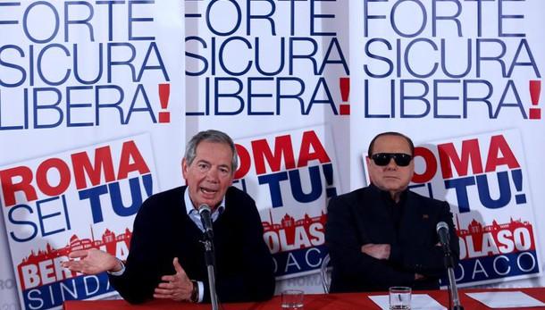 Bertolaso, totale appoggio da Berlusconi