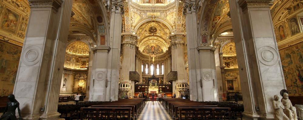La Basilica di Santa Maria Maggiore splende con le nuove luci: ecco il video