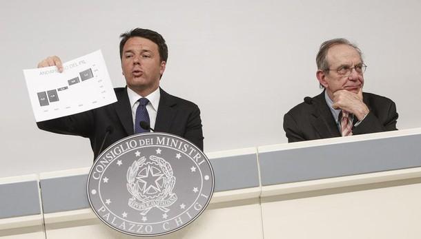 Renzi, non ci saranno manovre correttive