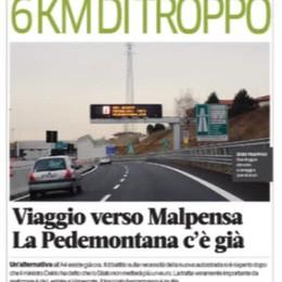 Andiamo a Malpensa con un percorso alternativo: la Pedemontana che c'è già