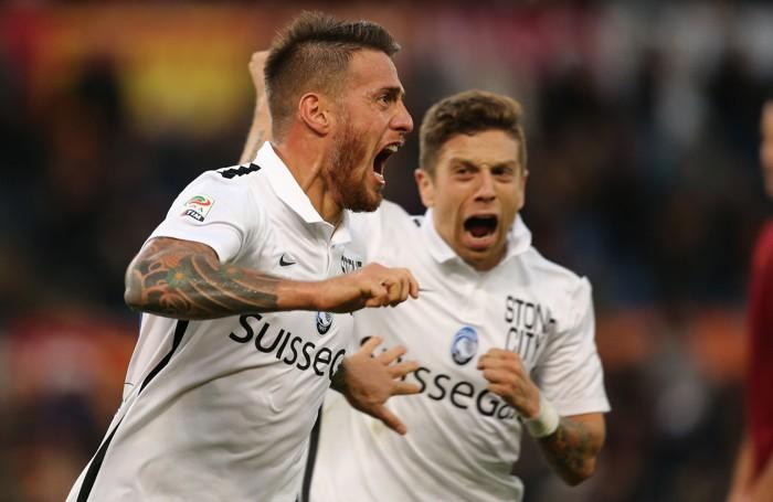 Denis e Gomez, grandi protagonisti contro la Roma nel 2-0 all'Olimpico della 14ª giornata