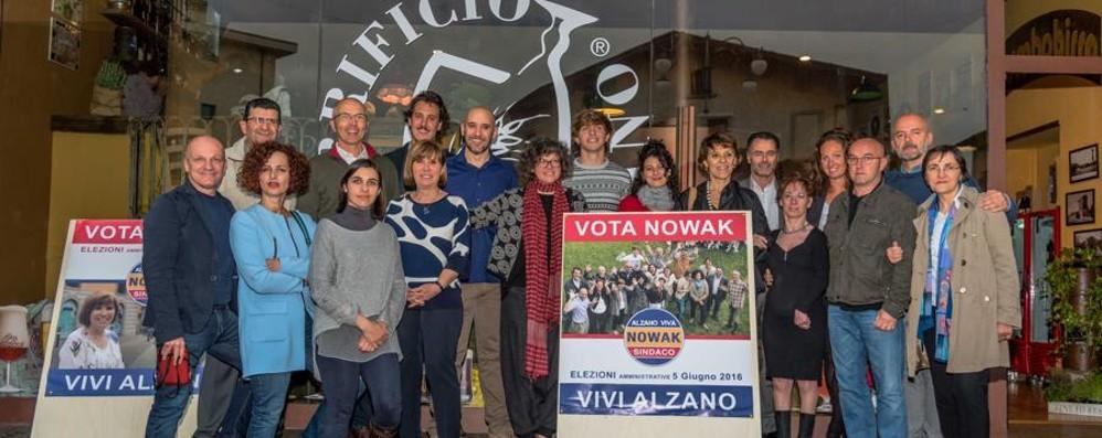 Nowak torna in corsa con una lista civica Lo slogan: «Siamo partiti senza partiti»