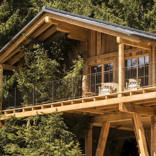 Case sugli alberi e chalet nei boschi da fiaba di avelengo - Costruire case sugli alberi ...