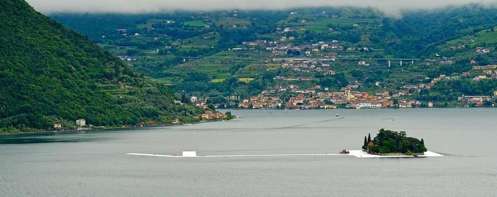 Christo, il lago  quanto ci guadagna? In arrivo  3 milioni di euro al giorno