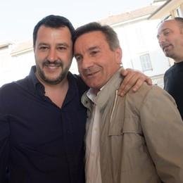 Il tour di Salvini: in 1.500 a Treviglio «Vincere per battere la sfiducia»