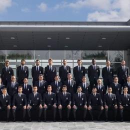 Campioni d'Italia made in Bergamo Trussardi veste la Juventus 2016-17