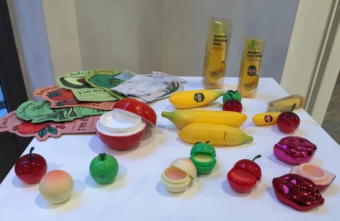 Maschere, creme e balsami labbra a forma di frutta: tutto Tony Moly