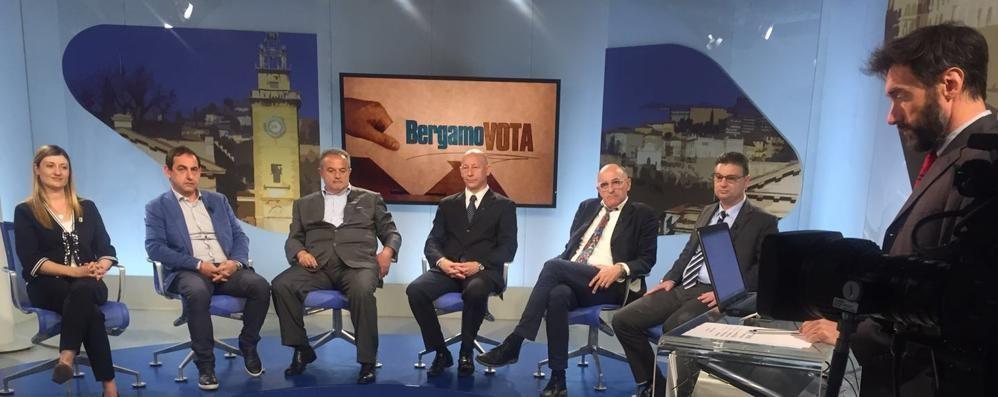 Al via «Bergamo Vota» in tv La prima puntata parla di Cologno
