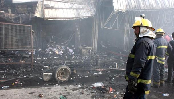 Iraq: Isis rivendica attentato mercato