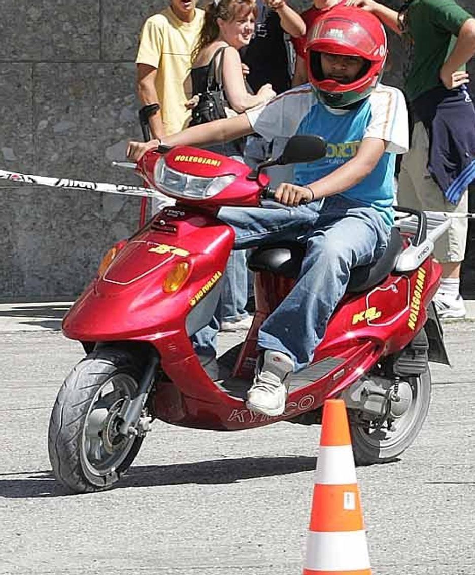 Prove di guida in moto