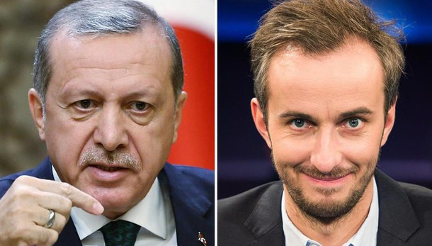 Tribunale Amburgo vieta satira Erdogan