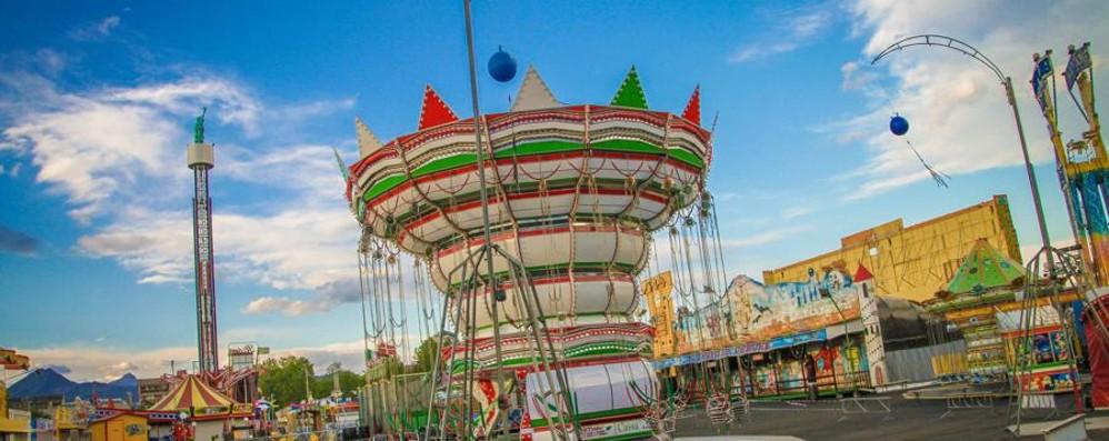 Luna Park, alpini in festa Telethon e Soap Rally