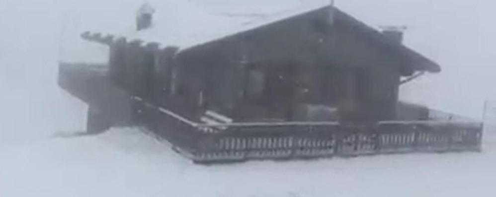 Ma che cavolo di maggio è? Guardate la neve al Pora - Video