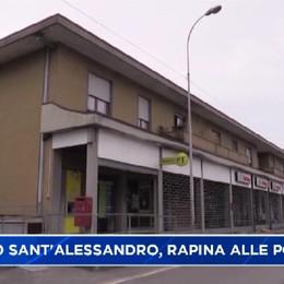 Albano Sant'Alessandro, rapina alle Poste