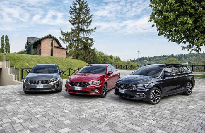 La nuova famiglia di Fiat Tipo