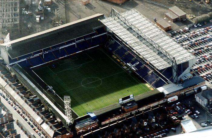 Filbert Street, storico stadio del Leicester
